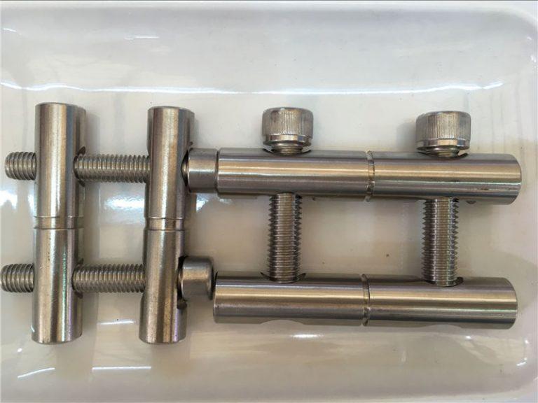 ansi 316ti / ro 1.4571, 317l / ro 1.4438 seria din tije de conectare a pieselor din oțel inoxidabil