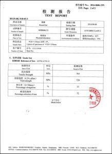 Certificat pentru A193 B8M CL2
