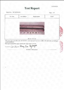 Certificat pentru A453 660B 3