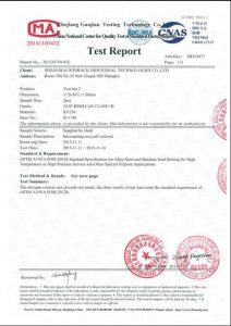 Certificat pentru S31254