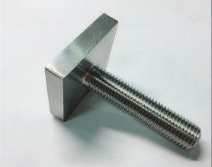 Nickel Cooper monel400 fixare cu șurub pătrat uns n04400