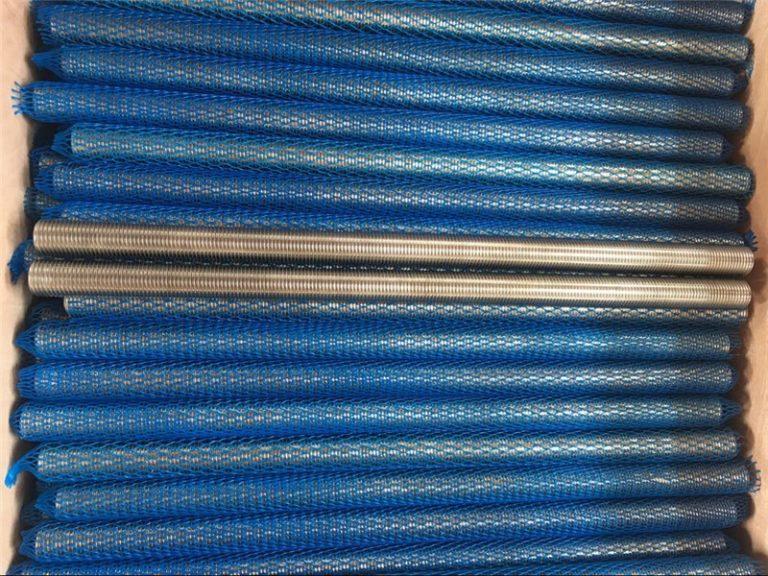 aliaj de nichel inconel601 / 2.4851 tija filetată trapezoidală mărfuri noi