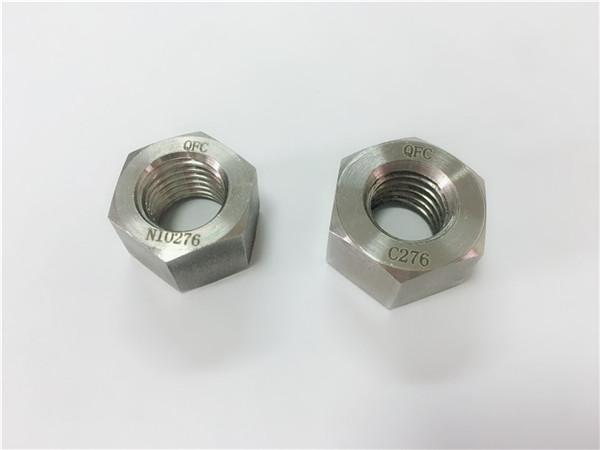 producător elemente de fixare din aliaj hastelloy c276 piulițe