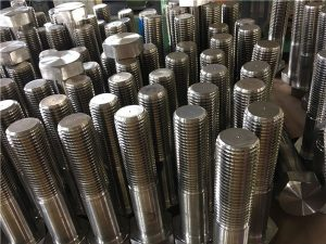 Nr. 12 șuruburi hexagonale ISO4014 semifabricat A193 B8, B8M, B8T, B8C SS