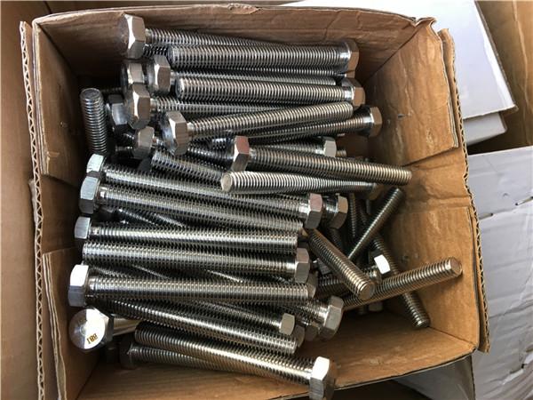 310s / 1.4845 elemente de fixare speciale din oțel inoxidabil șaibă cu șurub cu șuruburi m24 * 80mm