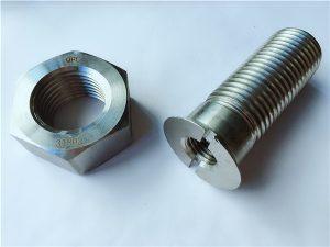 Nr.55-Bolțuri și piulițe din oțel inoxidabil duplex 2205 de înaltă calitate