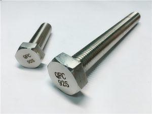 Nr.59-Șaibele cu piulițe cu șuruburi 925 cu incoloy, fixare din aliaj 825925