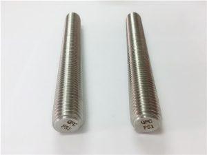 Nr. 77 Duplex 2205 S32205 elemente de fixare din oțel inoxidabil DIN975 tije filetate DIN976 F51