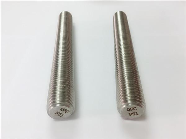 duplex2205 / s32205 elemente de fixare din oțel inoxidabil din975 / din976 tije filetate f51