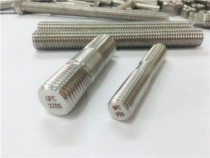 No.80-duplex 2205 S32205 2507 S32750 1.4410 fixare feronerie de înaltă calitate, ancoră cu tijă din lemn