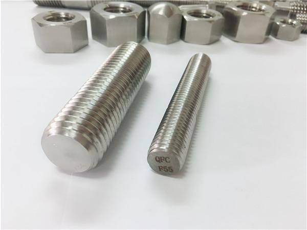 F55 / zeron100 elemente de fixare din oțel inoxidabil cu filet complet s32760