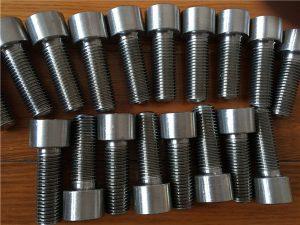 Nr. 9-Incoloy 926 EN1.4529 UNS N08926 dispozitiv de fixare cu șurub cu cap