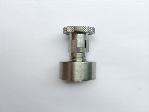 ss304, 316l, 317l, ss410 șurub de transport cu piuliță rotundă, elemente de fixare standard