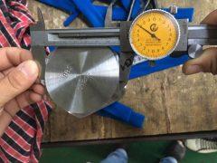 S31803 Încercarea dimensiunii surubului cu capac hexagonal