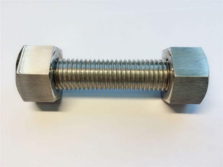 șuruburi de știft c / w 2 șuruburi hexagonale grele