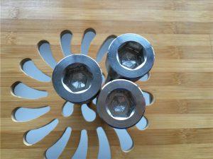 soclu hexagonal de înaltă calitate ASEM șurub din titan gr2 / șurub / piuliță / șaibă /