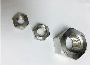 Duplex 2205 / F55 / 1.4501 / S32760 elemente de fixare din oțel inoxidabil cu piuliță hexagonală M20